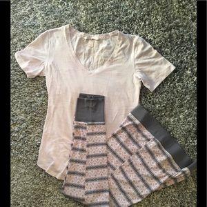Victoria Secret knit pajama set.